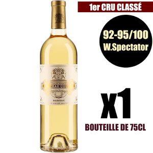 VIN BLANC X1 Château Coutet 2016 75 cl AOC Sauternes 1er Cru