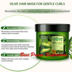 MASQUE SOIN CAPILLAIRE Masque doux naturel de cheveux d'olive de BIOAQUA