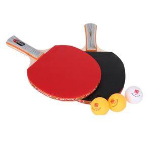 RAQUETTE TENNIS DE T. Kit de Ping Pong Raquettes de Tennis de Table Ping