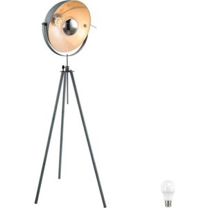 LAMPADAIRE Lampe Ciment Design Luminaire sur pied Salon Éclai