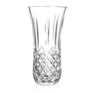 VASE - SOLIFLORE RCR Crystal Opera Cut Glass Table Vase Centerpiece