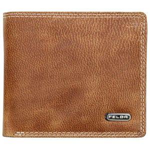 PORTEFEUILLE Felda - Portefeuille en cuir - RFID/boîte cadeau -