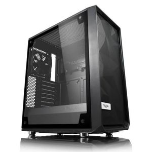 BOITIER PC  FRACTAL DESIGN Boîtier PC Meshify C Blackout Fenêt