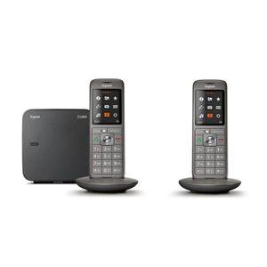 Téléphone fixe Gigaset CL660 Duo - Téléphone fixe sans fil - 2 co