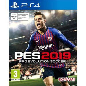JEU PS4 PES 2019 Jeu PS4 + 1 DUAL SHOCK  SONY offert