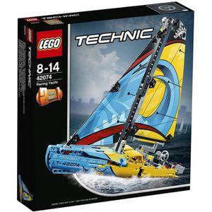 ASSEMBLAGE CONSTRUCTION LEGO® Technic 42074 Le yacht de compétition