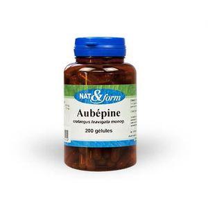 STRESS - SOMMEIL AUBÉPINE 200 gélules végétales - Nat et Form - …