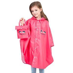 Personnage Enfants Garçons Pluie Mac Infant Veste Coat Haut Manche longue résistant à l/'eau