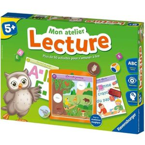 JEU D'APPRENTISSAGE RAVENSBURGER Mon Atelier Lecture (Jeu Educatif)
