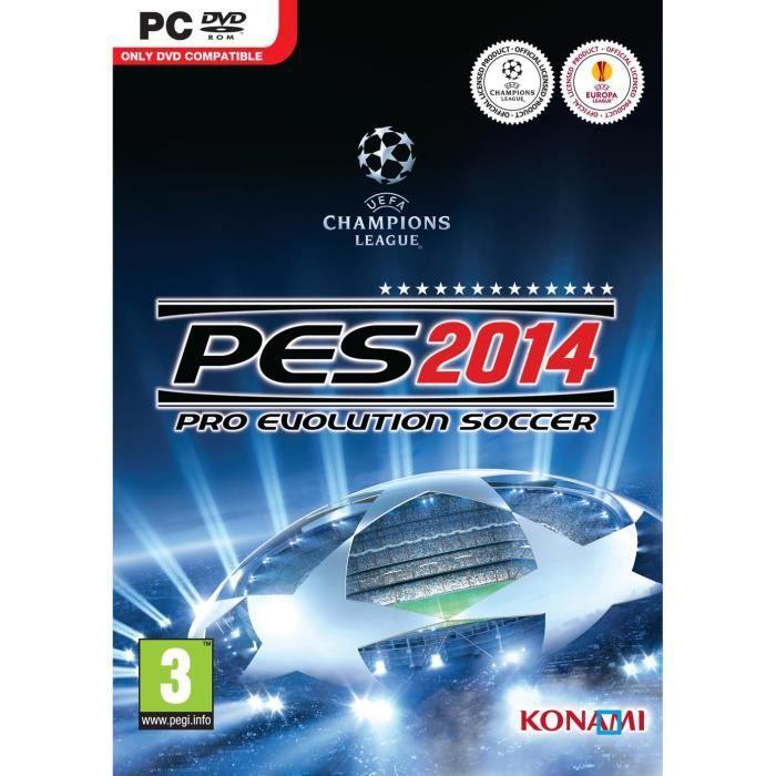 JEU PC Pes 2014 - Jeux Pc