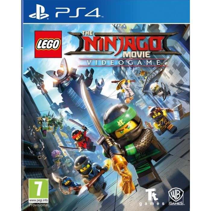 Lego Ninjago, Le Film : Le Jeu Video sur PS4