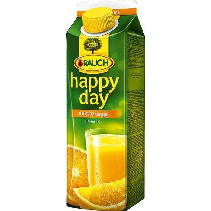Rauch Happy Day Orange Jus de Fruit 6 x 1l