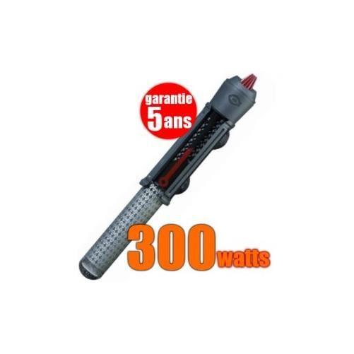 Chauffage 300 watts pour aquarium gros volume : VisiTerm 300