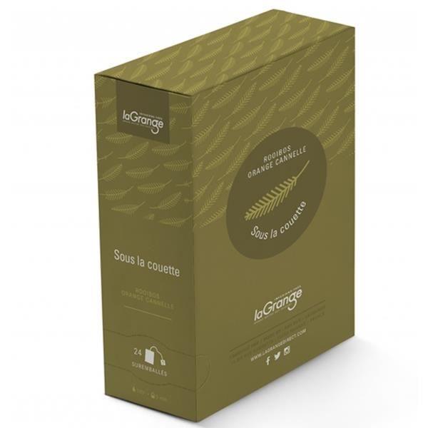 Rooibos Orange Cannelle - Sous la Couette - Boite de 24 sachets