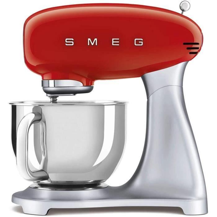 MULTIFONCTIONS Smeg SMF02RDEU Robot de Cuisine 18-8 Acier Inoxydable218