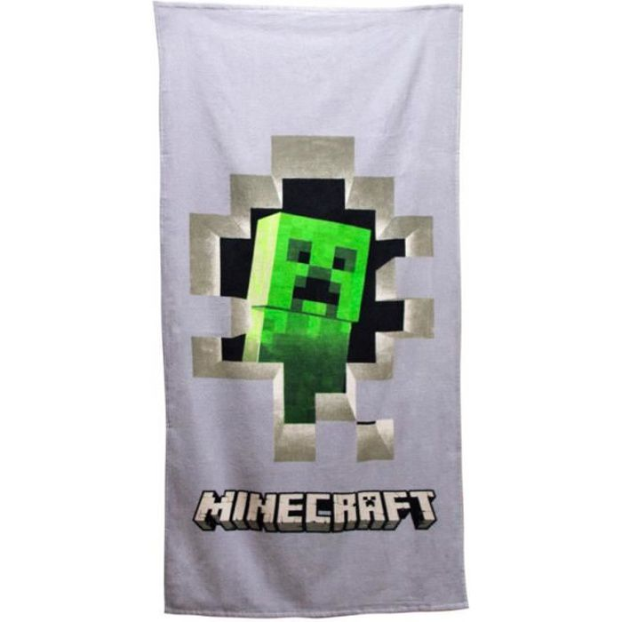 Minecraft Bac à Sable Serviette de Plage