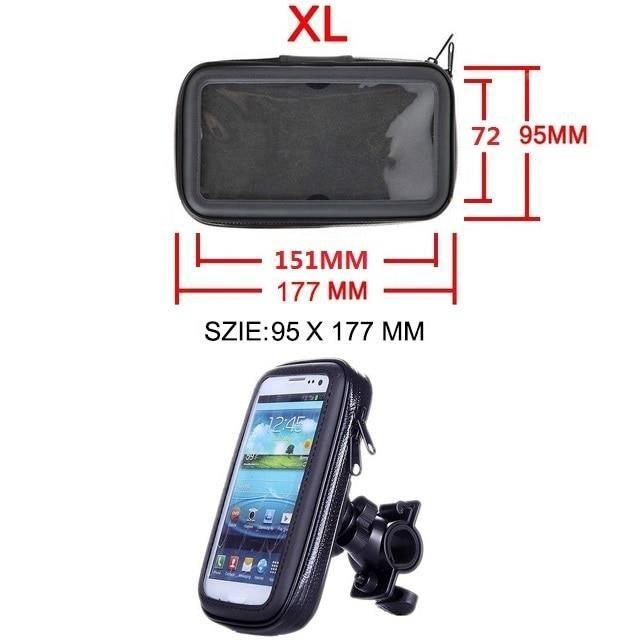 Support téléphone Moto Support téléphone Support Mobile pour Moto Support pour HUAWEI Redmi 5x Support vélo un50832ZJ2 XL