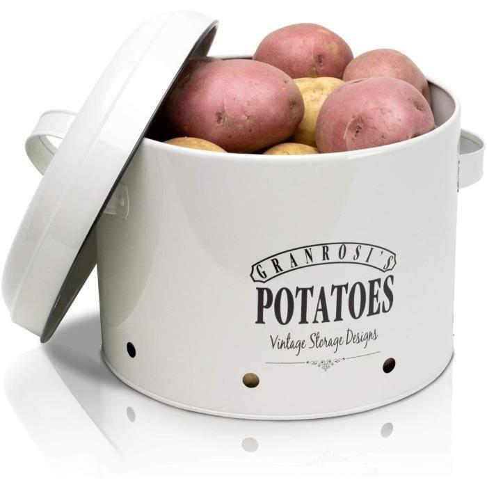 SAC DE CONSERVATION osi Boite de conservation spacieuse pour pommes de terre au design cocotte vintage anneacutees 1940 pour un 160