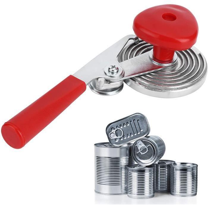 BOCAUX DE CONSERVATION Scelleuse manuelle de bo&icirctes, Iron + Abs Kitchen Scelleuse manuelle de bo&icirctes de conserve, 496