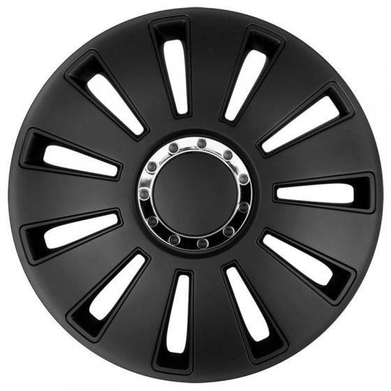 AutoStyle Enjoliveurs Silverstone Pro 14 pouces ABS noir lot de 4