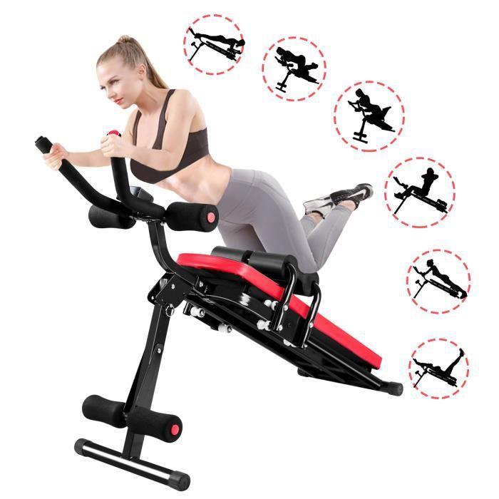 {Uier Sen} Appareil à Abdominaux Pliable - Appareil Abdominal Appareil de Fitness - 5 Minute Shaper Équipement de Fitness Familial