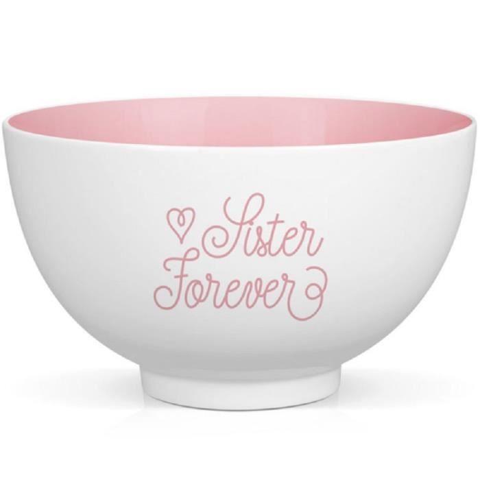 Bol en porcelaine Sister Forever