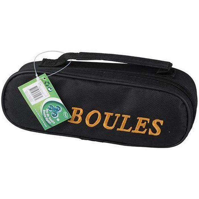 Jeu de boules - 3 boules de 73 mm avec son sac en nylon