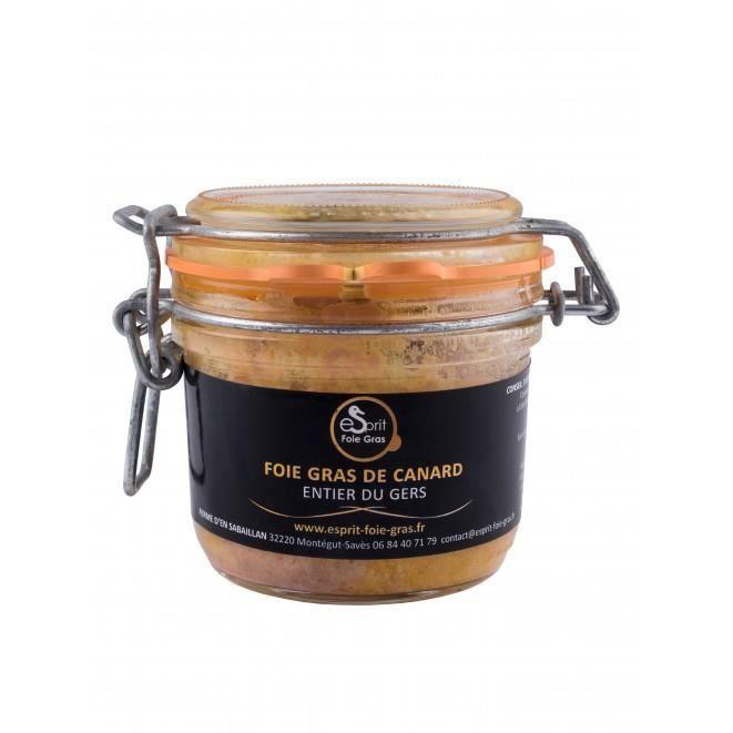 Foie gras de canard entier du Gers (180g) - 180g