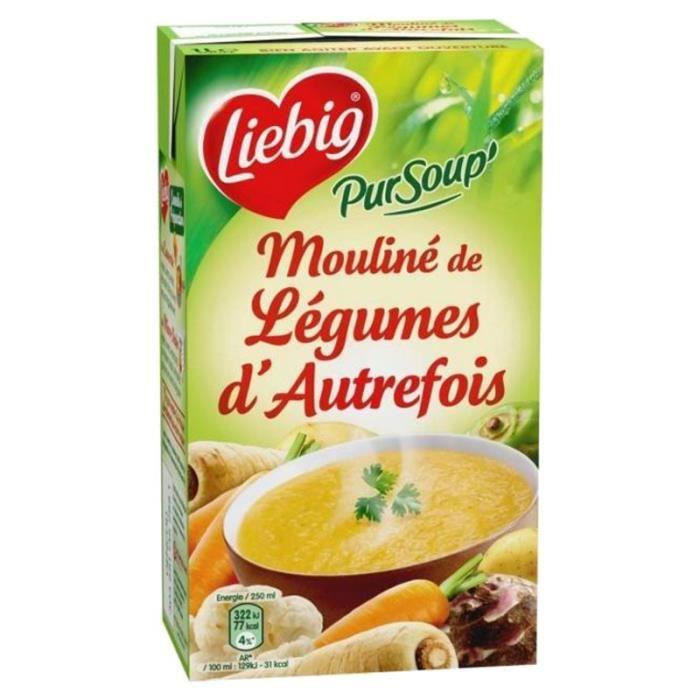 Liebig - Liebig Mouliné de Légumes d'Autrefois (lot de 3)