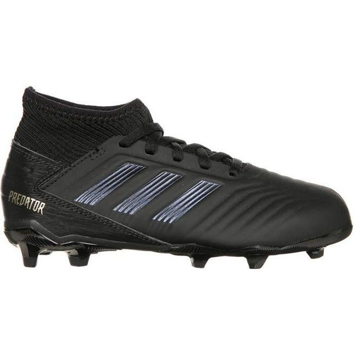 ADIDAS PERFORMANCE Chaussures de Football Predator 19.3 FG - Enfant - Noir/Or
