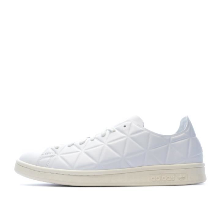 Stan Smith Polygone Baskets blanches femme Adidas