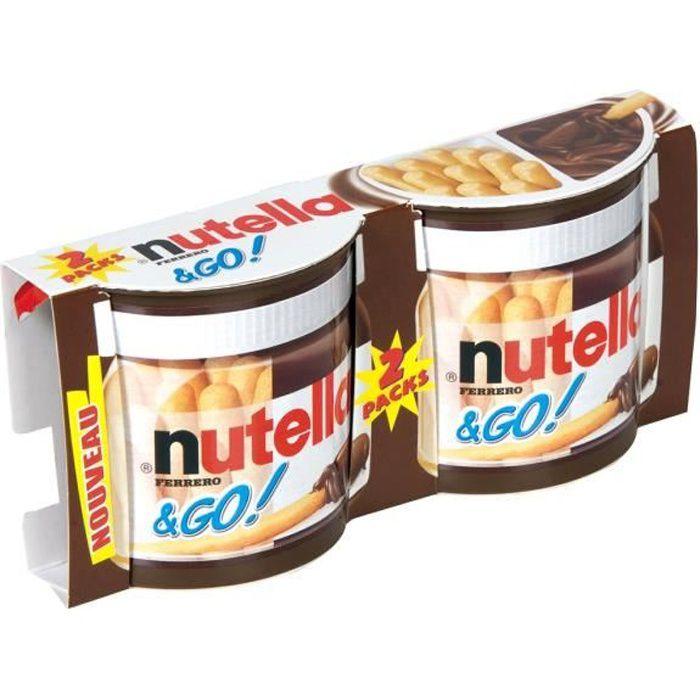 Biscuits pâte à tartiner 104 g Nutella & Go