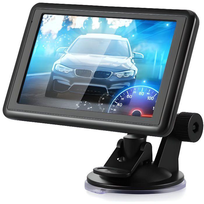 Voiture à écran tactile de 5 pouces SAT GPS Navigation NAV 8GB ROM Carte de l'UE Russie gratuite Support automobile Transmission FM