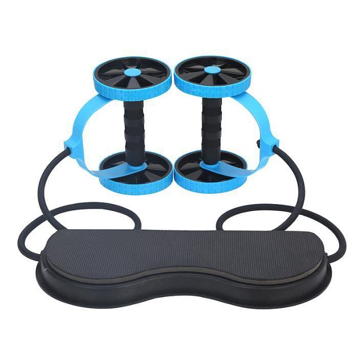 Sport Core Double rouleau roue Fitness exercices abdominaux équipement muet traction corde taille minceur formateur à la maison Gym
