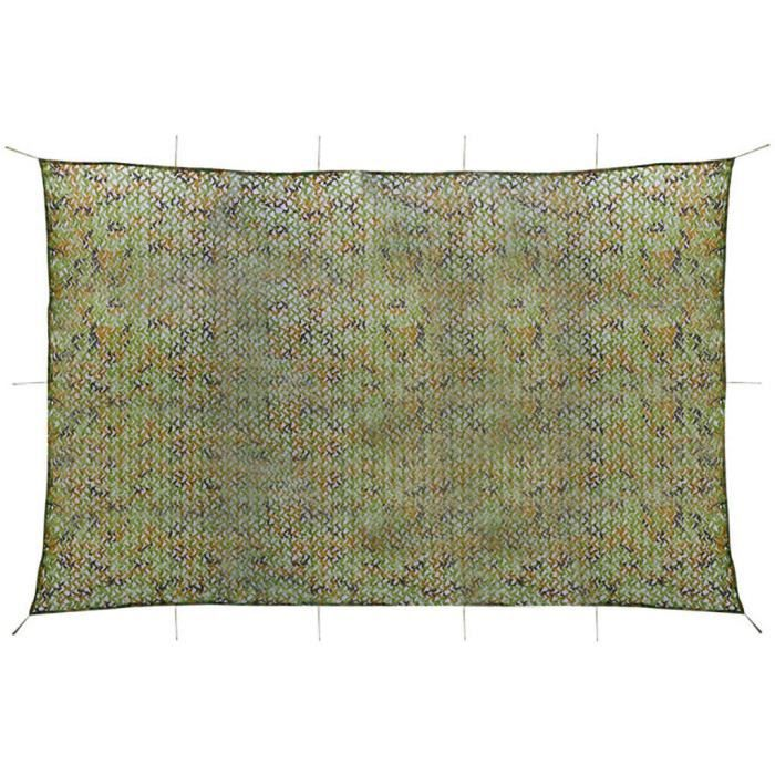Filet de camouflage avec sac de rangement 4 x 6 m