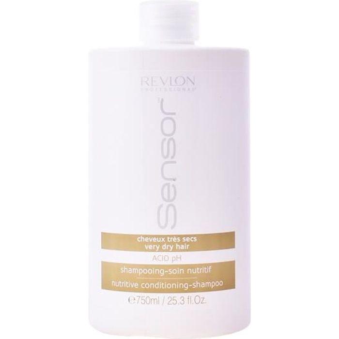Revlon Sensor Shampooing Soin Nutritif Cheveux Secs 750ml