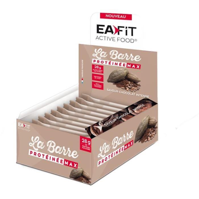 EAFIT La Barre protéinée Max Chocolat Intense - 60 g