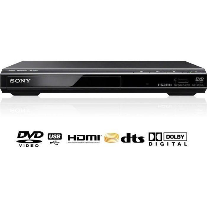 SONY DVPSR760HB Lecteur DVD - Port USB 2.0 - Upscaling 1080p - 1 X HDMI