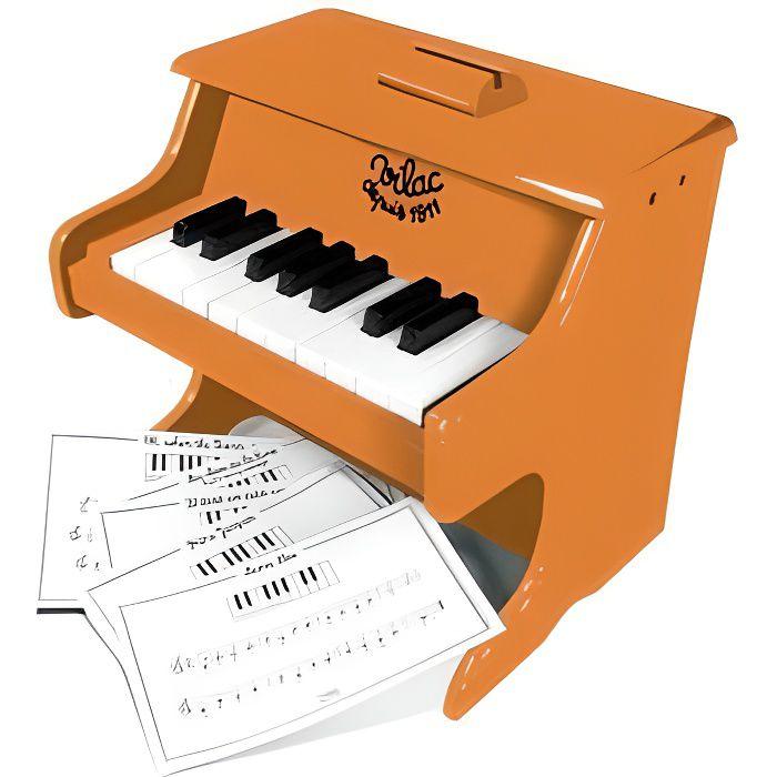 Piano Desert Sun en bois 18 touches + partitions - Jouet Vilac - Instrument de musique - Enfant 3 ans et plus