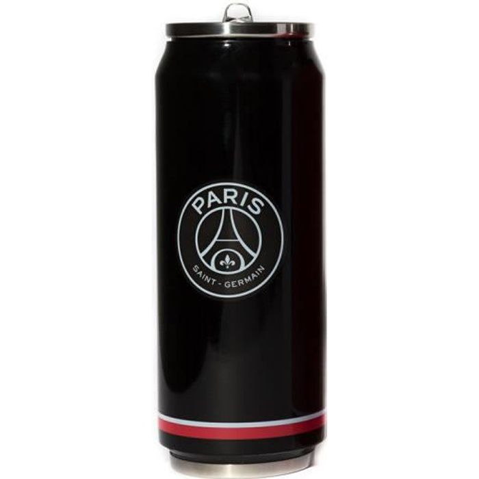 Mug canette isotherme Noir 500 ml PSG