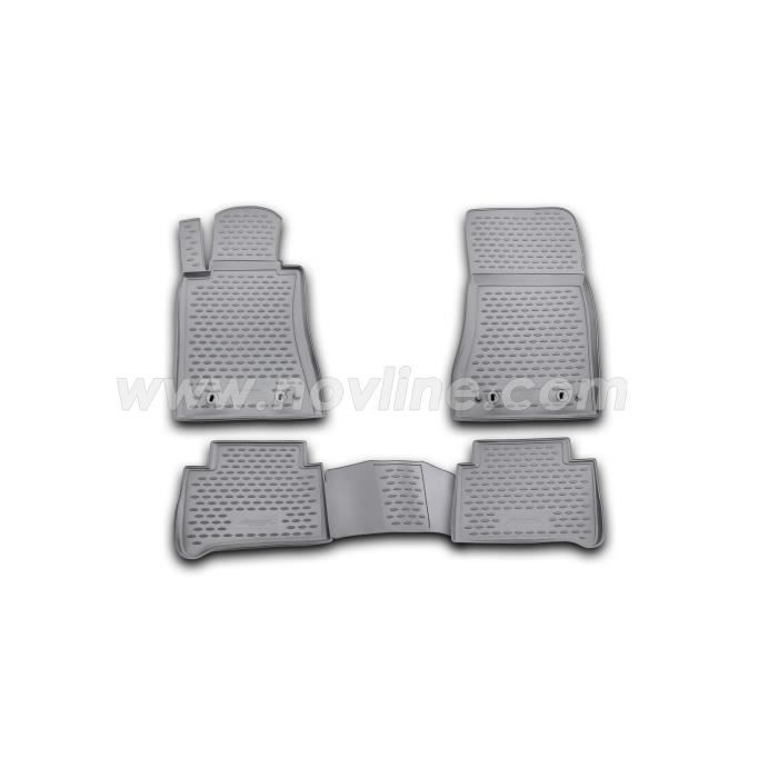 tapis en caoutchouc 3d mercedes benz w211 02 09 achat vente tapis de sol tapis en caoutchouc. Black Bedroom Furniture Sets. Home Design Ideas