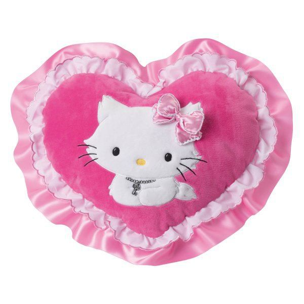 Coussin coeur hello kitty charmmy kitty achat vente coussin cdiscount - Hello kitty coeur ...