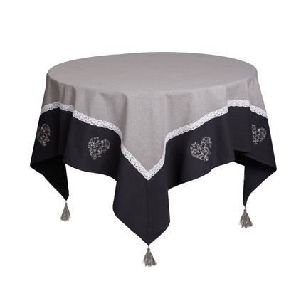 Nappe pour table carr e 150 150 table de cuisine for Table carree 150 x 150
