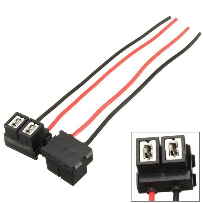 Fiche de lampe H7 499 477 Support dampoule R/éparation des phares et des connecteurs C/âblage des phares