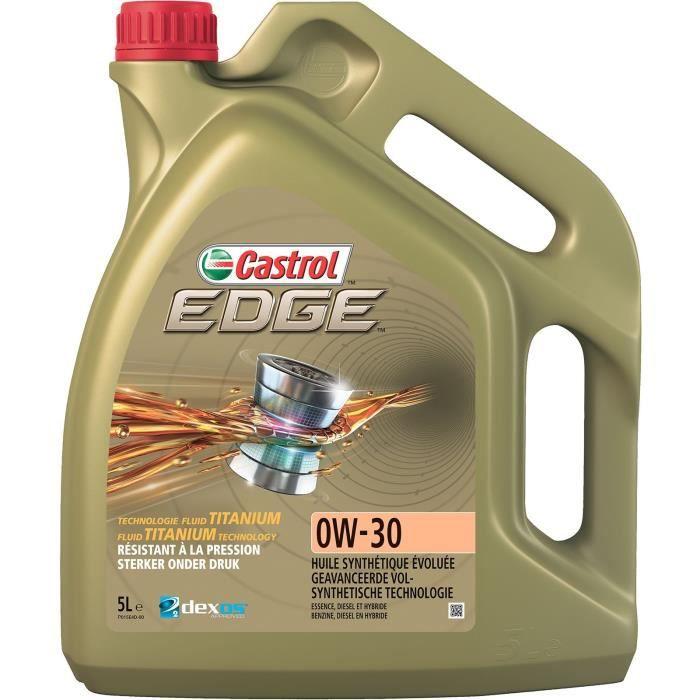HUILE MOTEUR CASTROL Huile moteur Edge 0W-30 - 5 L