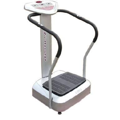 A vibration machine on her pussy 4