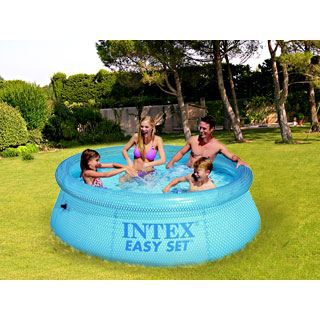 Piscine hors sol intex easy set clearview achat for Piscine intex hors sol