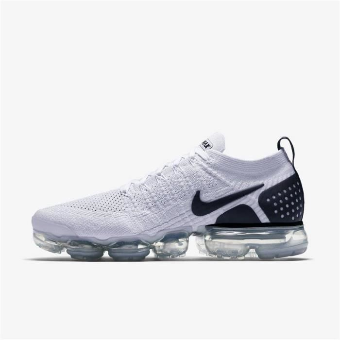 sports shoes 55e44 ddbcd Basket Nike Air VaporMax Flyknit 2 Homme Femme-Ref.942842-103 Noir ...