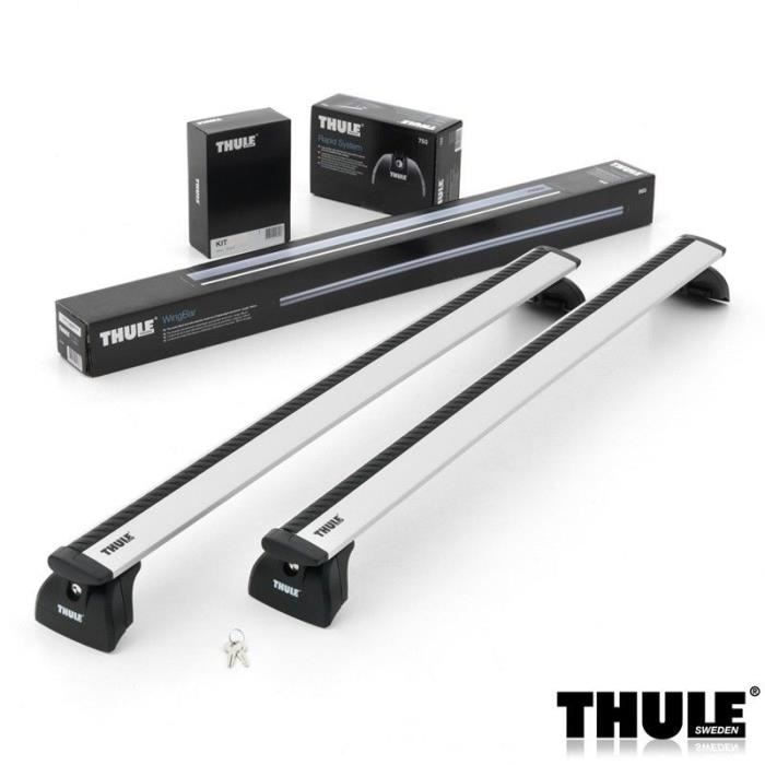 barres de toit thule wingbar 961 pour renault kangoo van 5 portes depuis 2008 achat vente. Black Bedroom Furniture Sets. Home Design Ideas