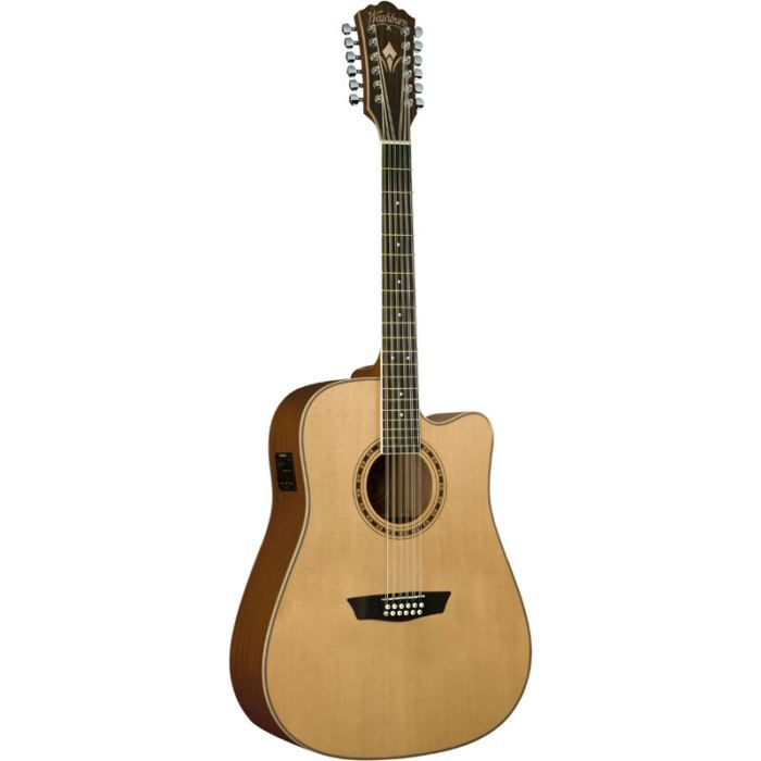 guitare electro acoustique 12 cordes washburn w pas cher. Black Bedroom Furniture Sets. Home Design Ideas